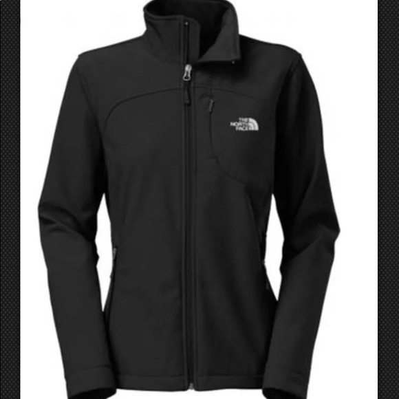 a26b4ea98 closeout womens the north face windstopper jacket pattern black ...